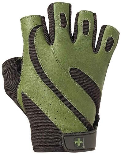 Harbinger Pro - Wash&Dry Fitness Handschoenen Green - S