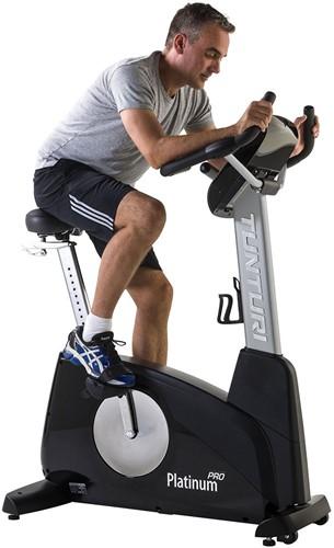 Tunturi Upright Bike Platinum PRO Hometrainer - Gratis montage-2