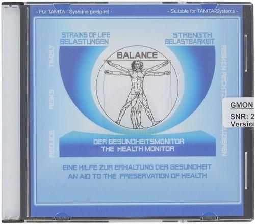 Tanita GMON 1000 Pro Healthware software