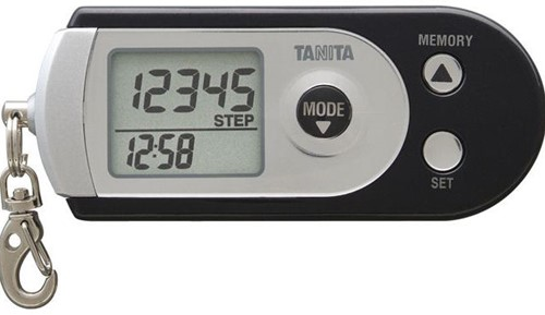 Tanita PD-724 Pedometer met geheugen