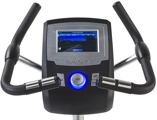 Tunturi Upright Bike Platinum Pro Hometrainer monitor