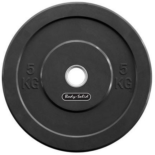 Body-Solid Olympic Bumper Plate - 5 kg