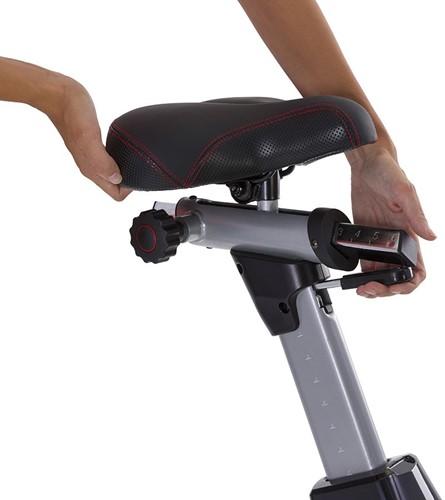 Tunturi Platinum Air Bike Hometrainer verstelbaar zadel