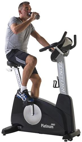 Tunturi Upright Bike Platinum Pro Hometrainer bidonhouder