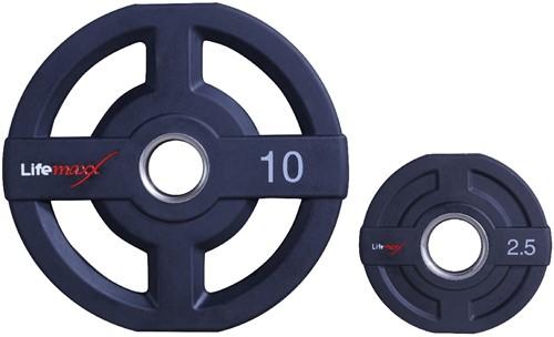 Lifemaxx Olympische Halterschijf - 50mm - 10kg