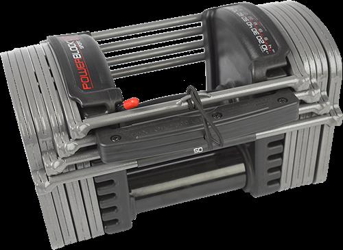 PowerBlock Sport EXP Set 5-50 - Verstelbare dumbbellset - 2,2 tot 22,7 kg