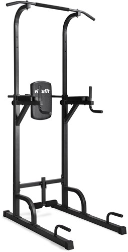 VirtuFit Verstelbare Power Tower - Pull Up Station - Dip Station