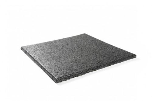 Rubberen vloertegel 100 x 100 cm