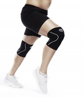 rehband line knee support black 3mm