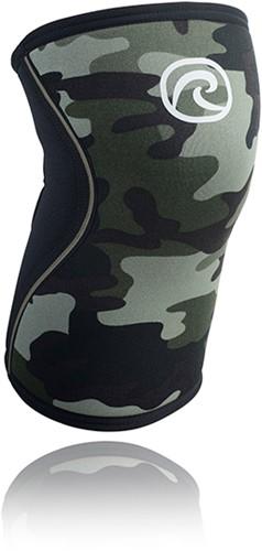 Rehband RX Kniebrace - 7 mm - Zwart/Camo