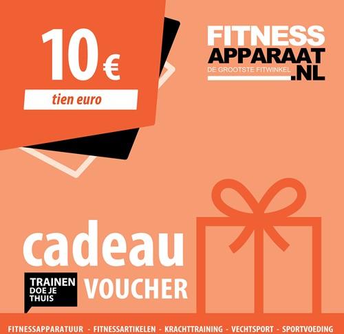 Fitnessapparaat Cadeaubon - 10 euro
