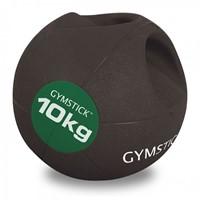 Gymstick medicijnbal met handvaten - 10 kg - Licht Verkleurd - Verpakking ontbreekt