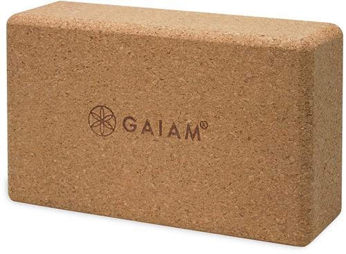 Gaiam Yoga Blok - Cork Brick