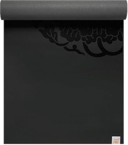 Gaiam Studio Select Dry Grip Yoga Mat - 6 mm - Zwart