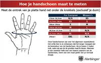 Harbinger 1205 Big Grip Wristwrap gloves-S-2