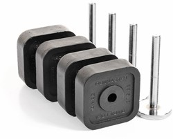 Ironmaster Quick-lock Dumbbell 120 LB Add-On Kit - 54,4 kg