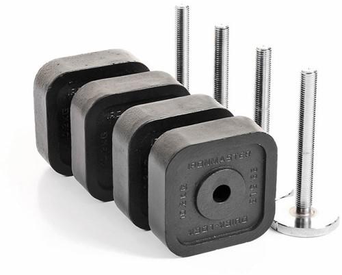 Ironmaster Quick-Lock Dumbbell Upgrade Kit met Locking Screws - 54,4 kg