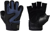 Harbinger Training Grip - Black/Blue - Swirl - Stoffig