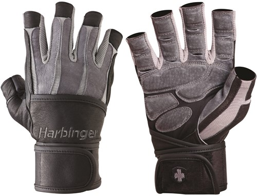 Harbinger Bioform WristWrap - Grey/Black