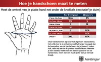 Harbinger FlexFit gloves Black/Blue-2