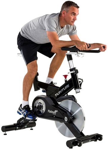tunturi platinum sprinter pro spinbike model man