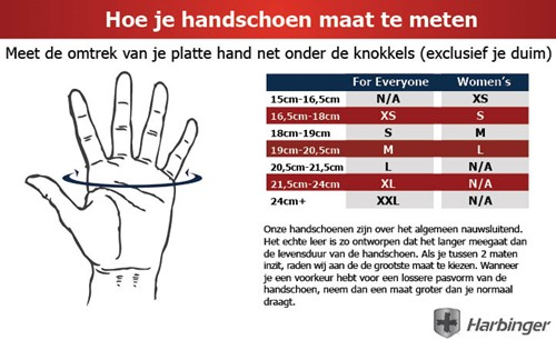 Harbinger Pro - Wash & Dry Fitness Handschoenen Natural-2