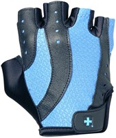 Harbinger Womens pro wash & dry 2 fitness handschoenen - Black Blue-1