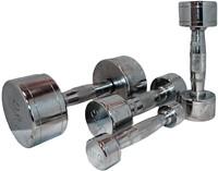 Marcy Chrome Dumbell 16 kg - 1 stuk-2