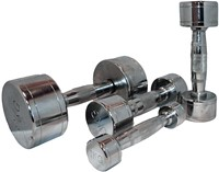 Marcy Chrome Dumbell 20 kg - 1 stuk-2