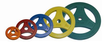 Aerobic Schijven 0.5 kg Rubber (30 mm) 2 stuks