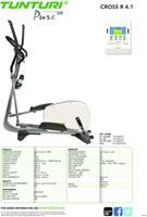 Tunturi Pure Cross R 4.1 - Crosstrainer - Gratis montage-2