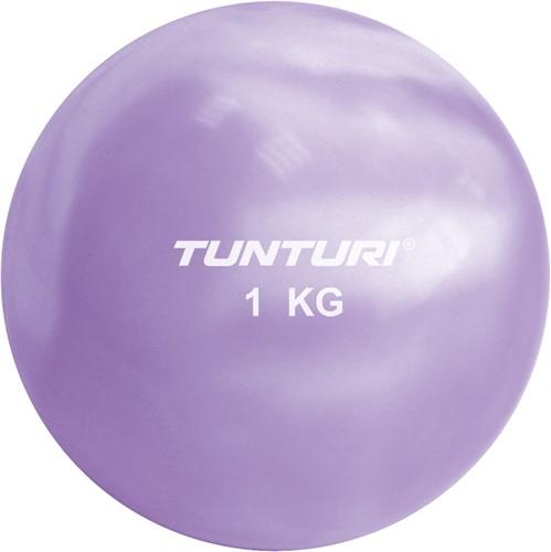 Tunturi Fitnessbal 1 kilo paars