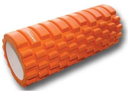 Tunturi Yoga Foam Grid Roller - Oranje