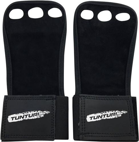 Tunturi Lederen Fitness Crossfit Handschoenen - M