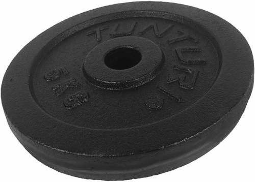 Tunturi Gietijzer schijf 5 kg (30 mm)