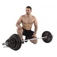Tunturi 100 kg Olympische Tri-Grip Barbell Set-2