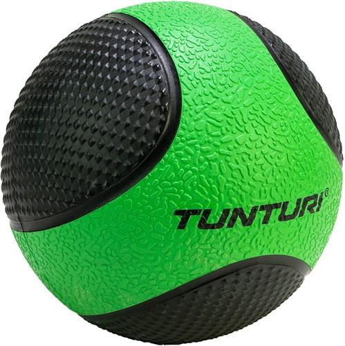 Tunturi Medicijnbal - Rubber - 2 kg - Groen/Zwart