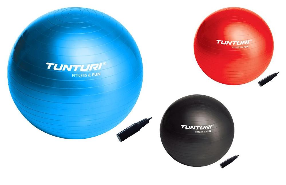 Tunturi-Bremshey Gymball Rood 65 Cm Stuk