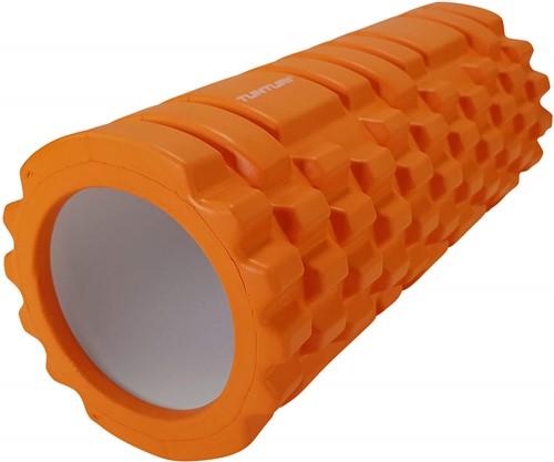 Tunturi Yoga Foam Grid Roller - 33 cm - Oranje