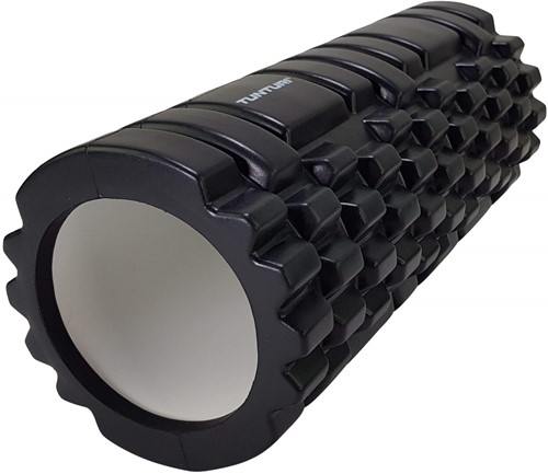 Tunturi Foam Grid Roller - 33 cm - Zwart