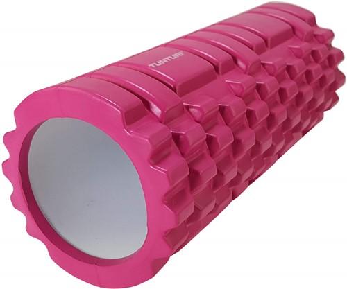 Tunturi Foam Grid Roller - 33 cm - Roze