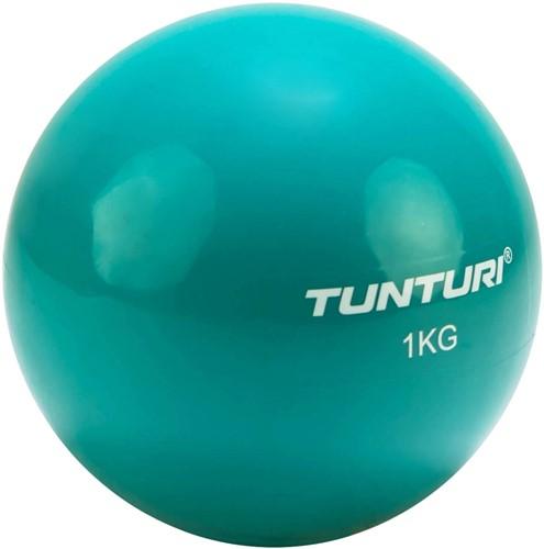 Tunturi Yoga Toningbal - Yoga bal - Fitnessbal - Turquoise