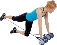 Gymstick powerwheelz met DVD