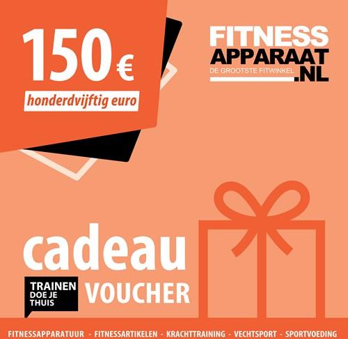 Fitnessapparaat Cadeaubon - 150 euro