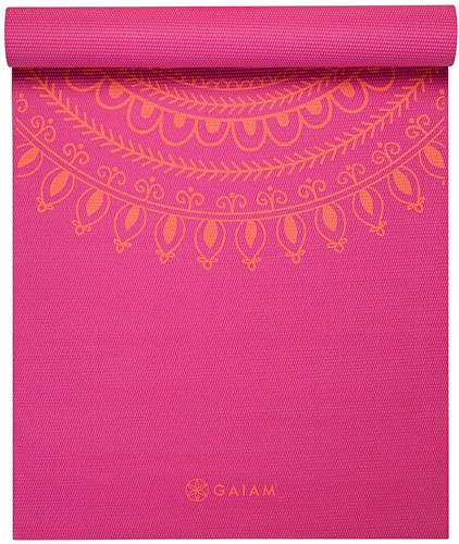 Gaiam Yoga Mat - 6 mm - Bright Marrakesh