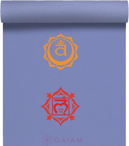 Gaiam Yoga Mat - 4 mm - Chakra
