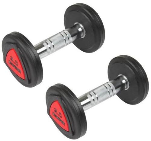 Hammer PU Dumbbell Set - 2 x 2,5 kg