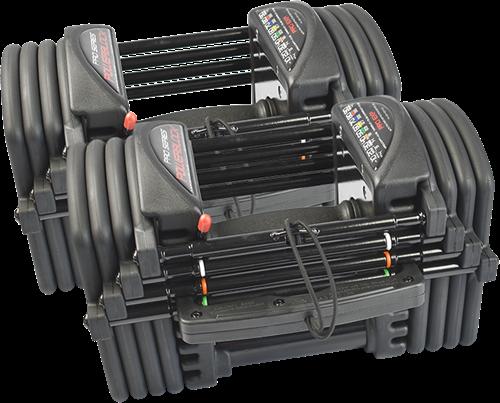 PowerBlock Pro EXP Set 5-50 - Verstelbare dumbbellset -  2,2 tot 22,7 kg - Tweedekans