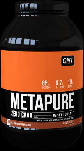 QNT Zero Carb Metapure - 908g - Belgian Chocolate