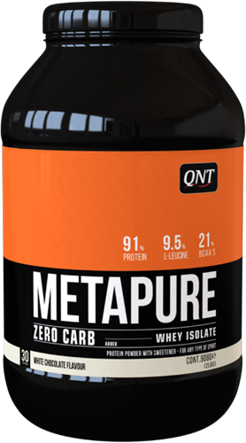 QNT Zero Carb Metapure - 908g - White Chocolate